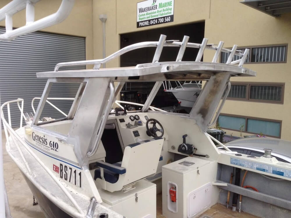 Custom Boat Bar Work | Wakemaker Marine